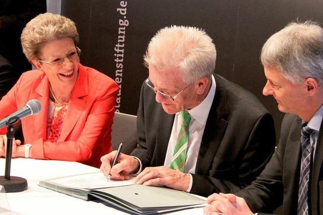 Kretschmann in Staufen: Finanzierung der Risse-Krise unter Dach und Fach