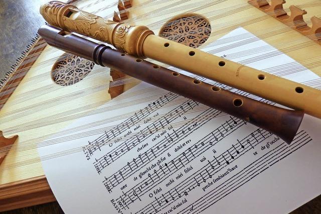 Das Ensemble Con Dolcezza spielt im Gemeindezentrum St. Josef