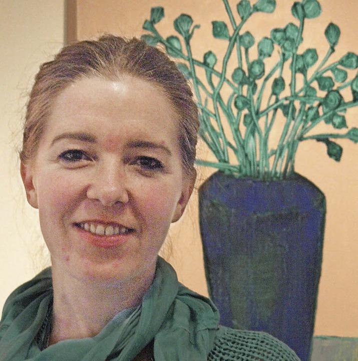 Den ersten Geburtstag ihrer Galerie fe... der eigenen künstlerischen Produktion  | Foto: Karin Stöckl-Steinebrunner