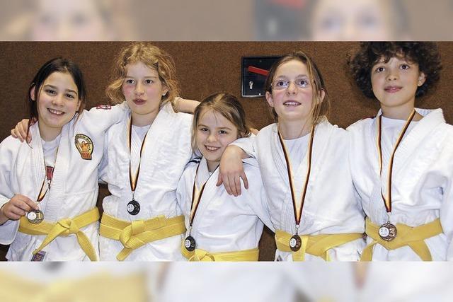 Junge Judoka weiter in der Erfolgsspur