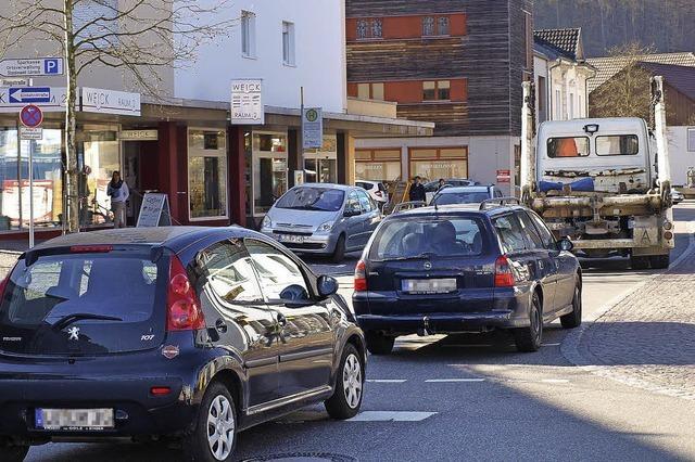 Verkehr aus dem Ortskern