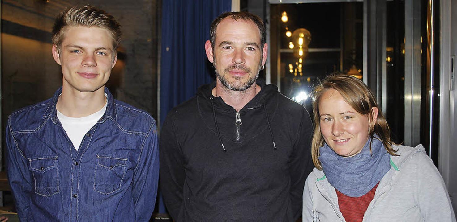Für den Jugendtreff in Haagen verantwo... Funke und Lisette Opitz (von links).   | Foto: Thomas Loisl Mink