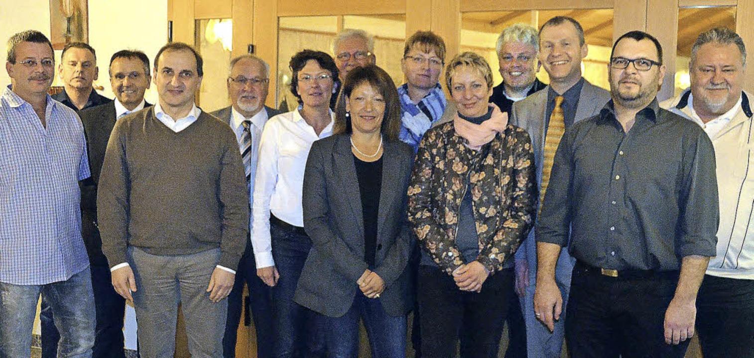 Die Kandidaten der Bad Säckinger Freie...t, Mike Grutschnig und Bernd Griesser   | Foto: Axel Kremp
