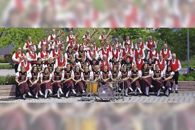Musikverein Bernau feiert 150-jähriges Bestehen