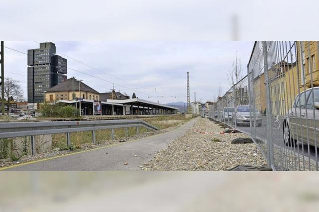 Boulevard an der Belchenstraße wird weitergebaut