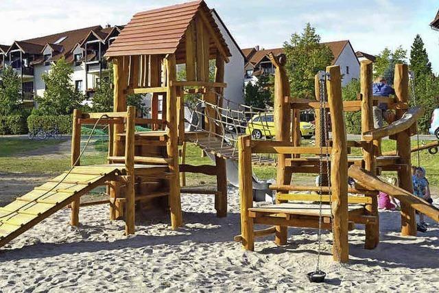 Dorfplatz im Kurgarten