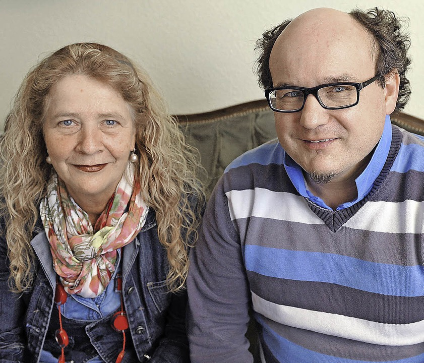 Silvia Fréchet und Volker Höhlein   | Foto: Rita Eggstein