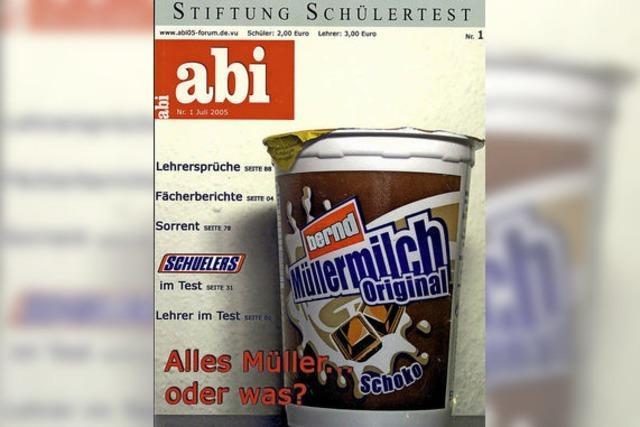 Abizeitung made by Rektor?