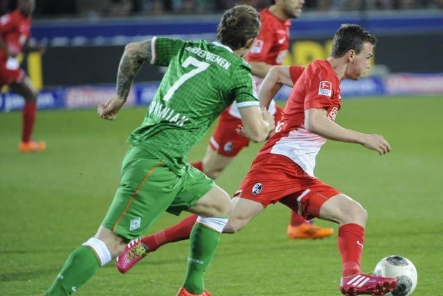 3:1 gegen Bremen: Freiburg holt den nächsten Sieg
