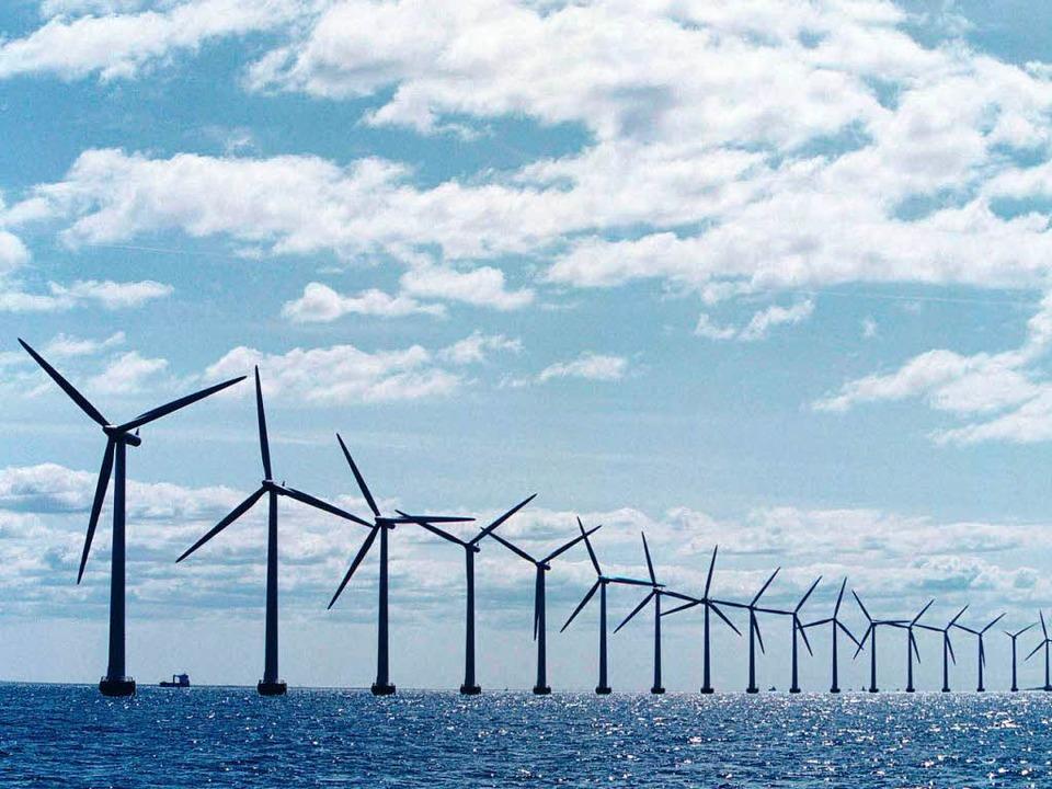 Im Norden wird der grüne Strom produzi...ist, wie  er durch die Republik kommt.  | Foto:  DDP Nachrichtenagentur