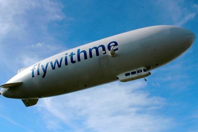 Wie sich eine Zeppelin-Fahrt über dem Bodensee anfühlt