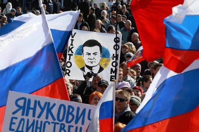 Russland übernimmt militärische Kontrolle