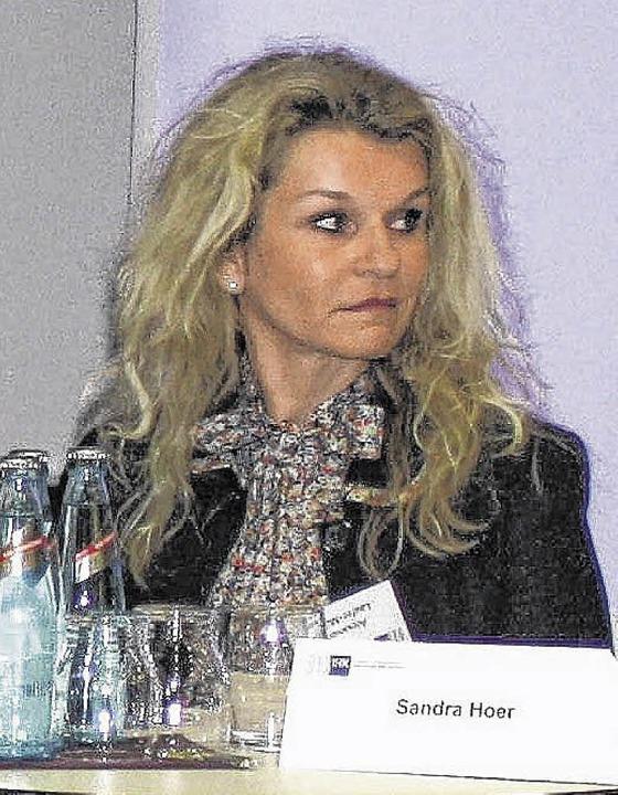 AP&S-Geschäftsführerin Alexandra Laufer-Müller   | Foto: Preuss