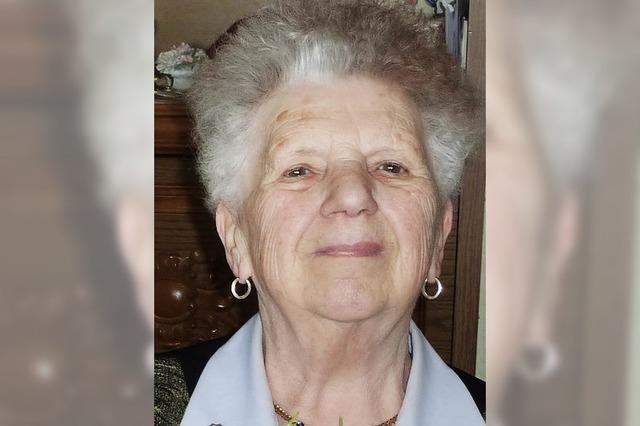 Elfriede Bühler wurde 80 Jahre