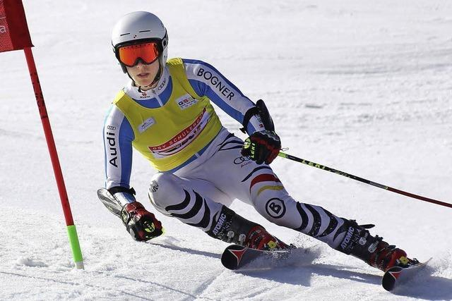 Sion Demattio vom SC Neustadt bleibt vorn