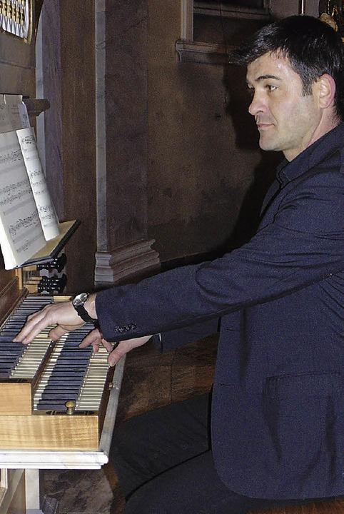 Das Leben und die Werke von Johann Sebastian Bach stellte Michael Herrmann vor.   | Foto: michael Gottstein