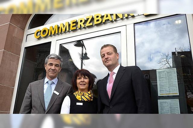 Commerzbank in Lörrach zufrieden