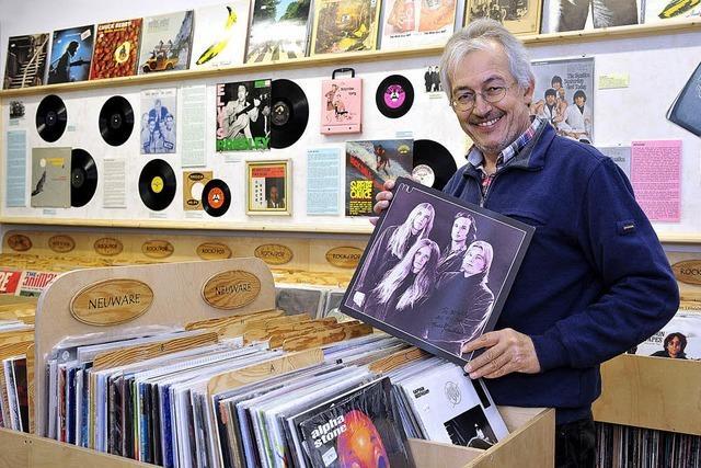 Die altbewährte Langspielplatte findet neue Fans - neuer Laden