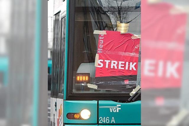 Verdi weitet Streiks im Südwesten aus