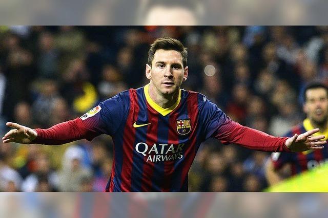 Messi sorgt für Spektakel