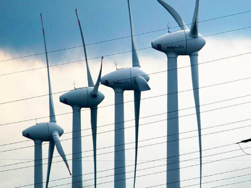 Der Bau neuer Windräder im Land  kommt einfach nicht voran.  | Foto: dpa