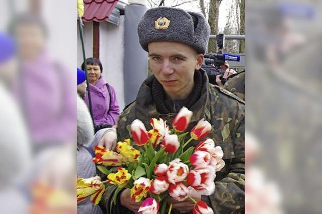 Ukraine ruft alle Soldaten von der Krim zurück