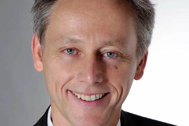 Michael Wilke will Oberbürgermeister von Lörrach werden