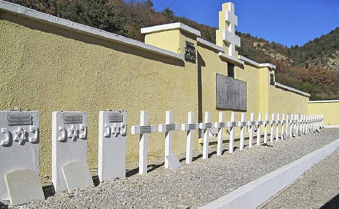 Das Ehrenmal der toten Partisanen beim Dörfchens Eygalayes in der Provence  | Foto: obrecht