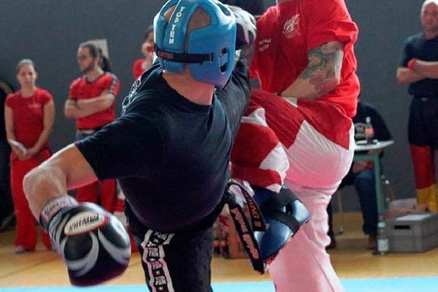 Gürtelprüfung im Fightclub