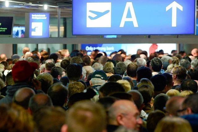Frankfurter Flughafen wird am Donnerstag bestreikt