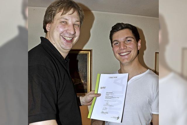 Gold für Trompeter Jochen Burkhard