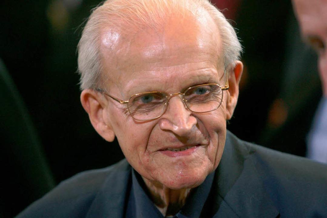 Kam in Oberbergen im Kaiserstuhl zur Welt: der Theologe Eugen Biser    Foto: dpa
