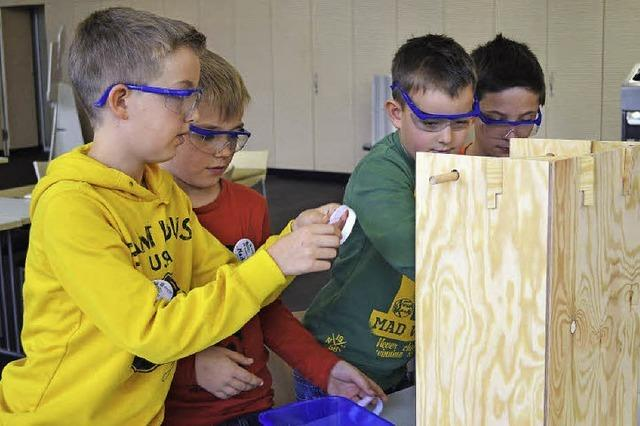 Science Camps kommen an