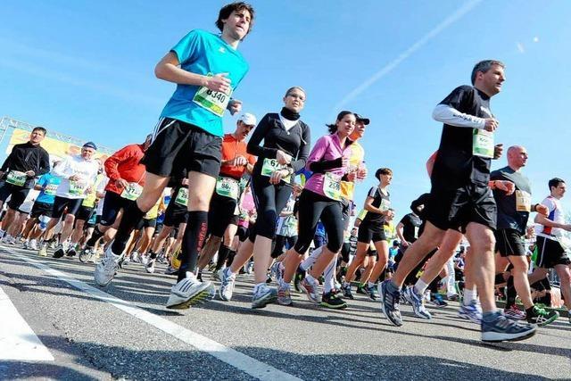 Freiburg Marathon: Die Stadt macht sich startklar