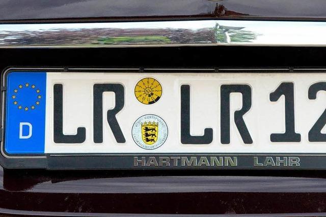 Die LR-Kennzeichen können ausgegeben werden