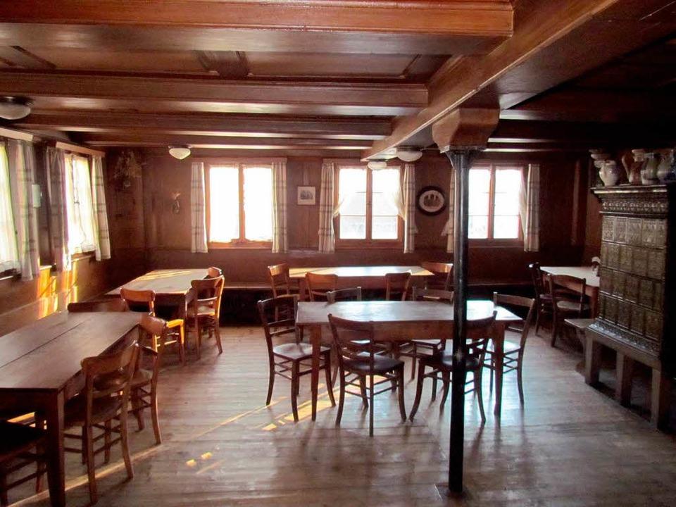 Alle in der Straußi? Leeres Gasthaus   | Foto: BZ