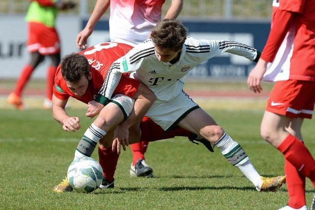 Ungefährdeter Sieg der Bayern gegen den SC