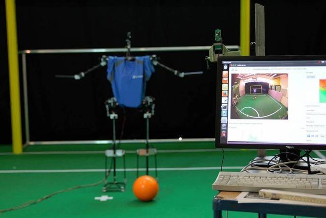 Offenburger Hochschul-Roboter bei WM in Brasilien