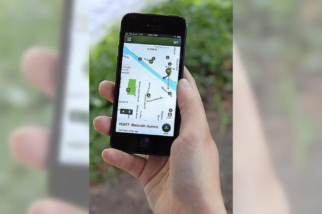 Die Ausrüstung: GPS-Geräte fürs Geocaching