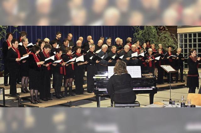 Chormusik aus sechs Jahrzehnten