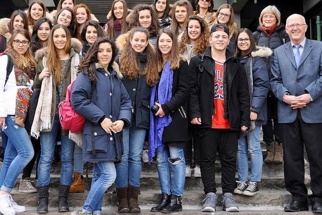 Italien zu Besuch am Rhein