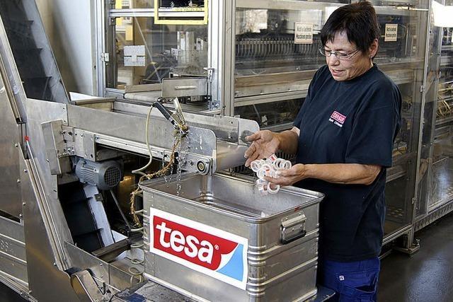 Ein Sonderlob für Tesa in Offenburg