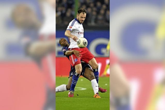 Der SC Freiburg holt beim HSV einen Punkt