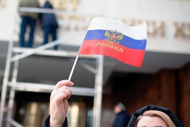 Kreml lässt Internetseiten sperren