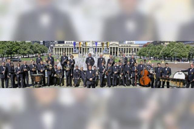 Landespolizeiorchester Baden-Württemberg in Waldshut