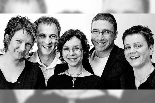 Das Ensemble Faunus Quintett spielt in Rheinfelden