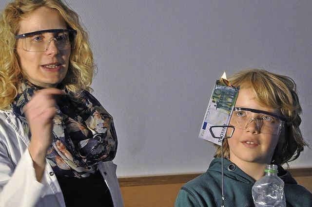Science mobil in der Grundschule