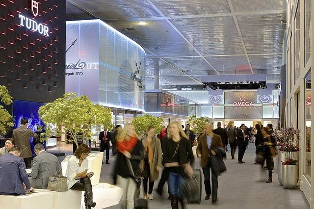 In Basel findet die Uhren- und Schmuckmesse statt