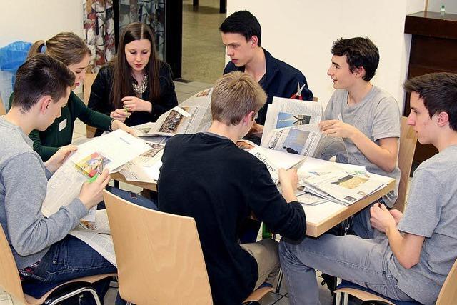 Firmvorbereitung mit der Zeitung