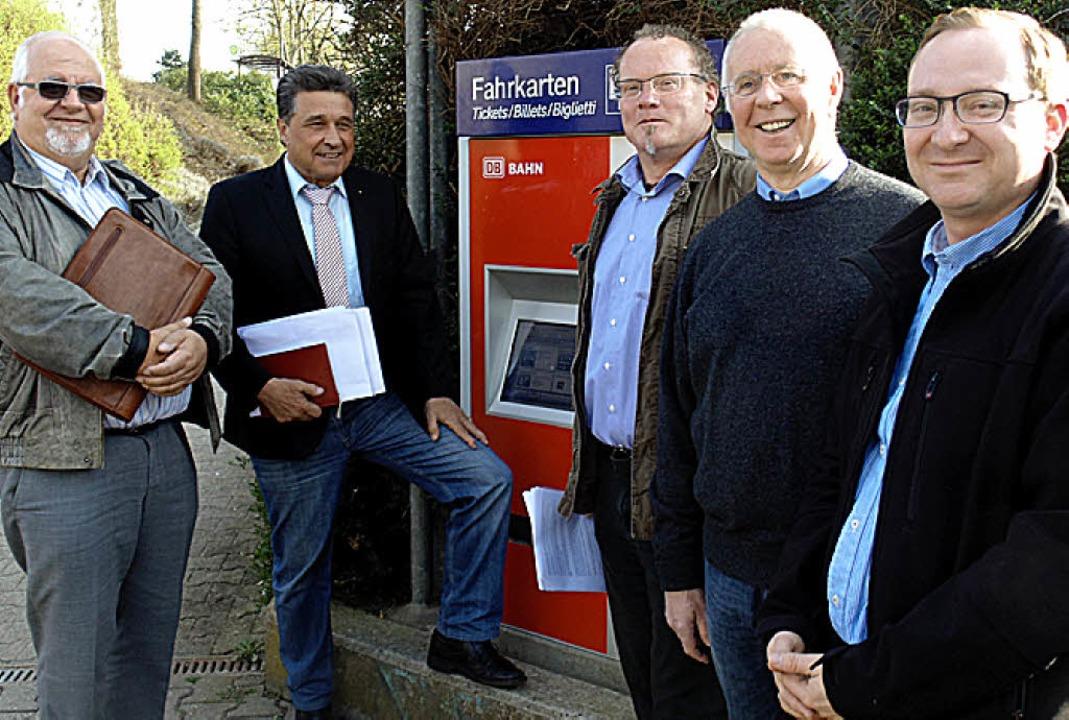 Die Initiatoren (von links): Hans-Pete...enecker, Wolfgang Eckert, Axel Richter  | Foto: Michael Gottstein